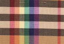 """""""O arco-íris, símbolo de inclusão e alegria, é celebrado em toda a coleção de fevereiro de 2018 da Burberry"""", escreveu o estilista Bailey."""