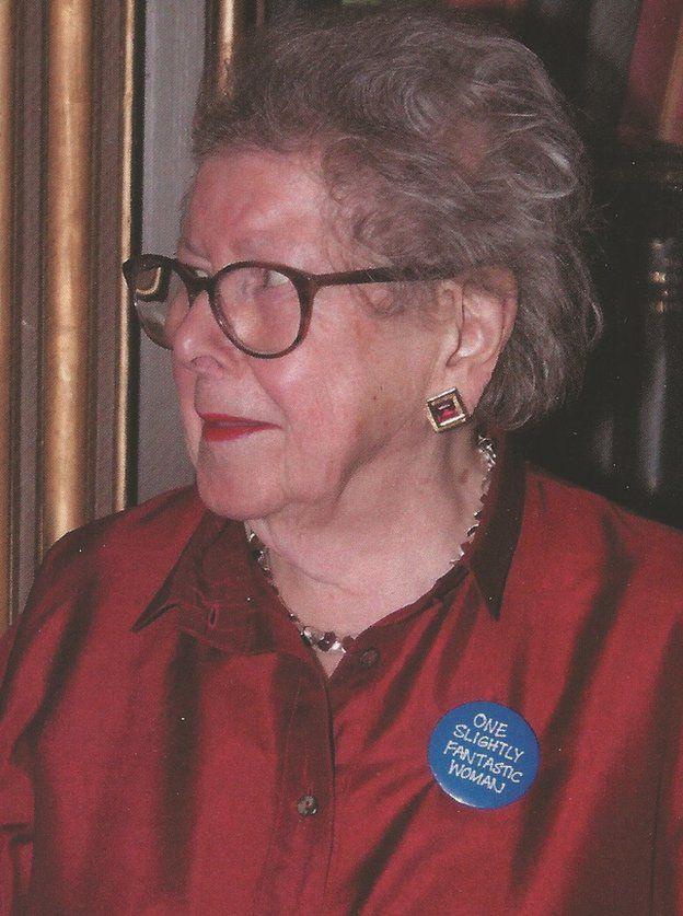 Hosking em sua festa de 90 anos