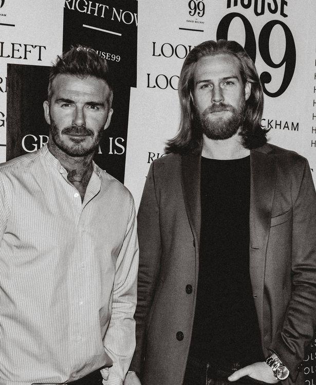 Atualmente trabalha com David Beckham no lançamento daHouse 99