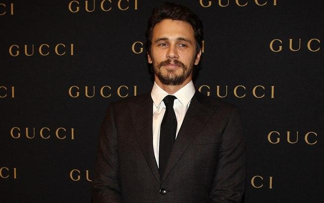 James Franco na inauguração da 'Gucci', no shopping JK Iguatemi, em SP