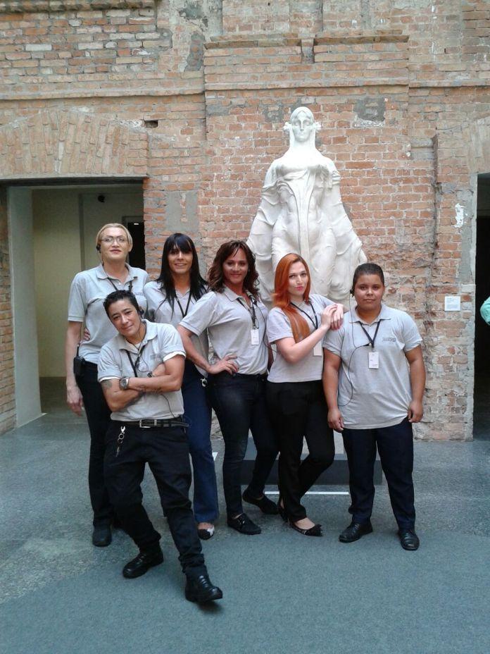 As mais novas contratadas da Pinacoteca :)