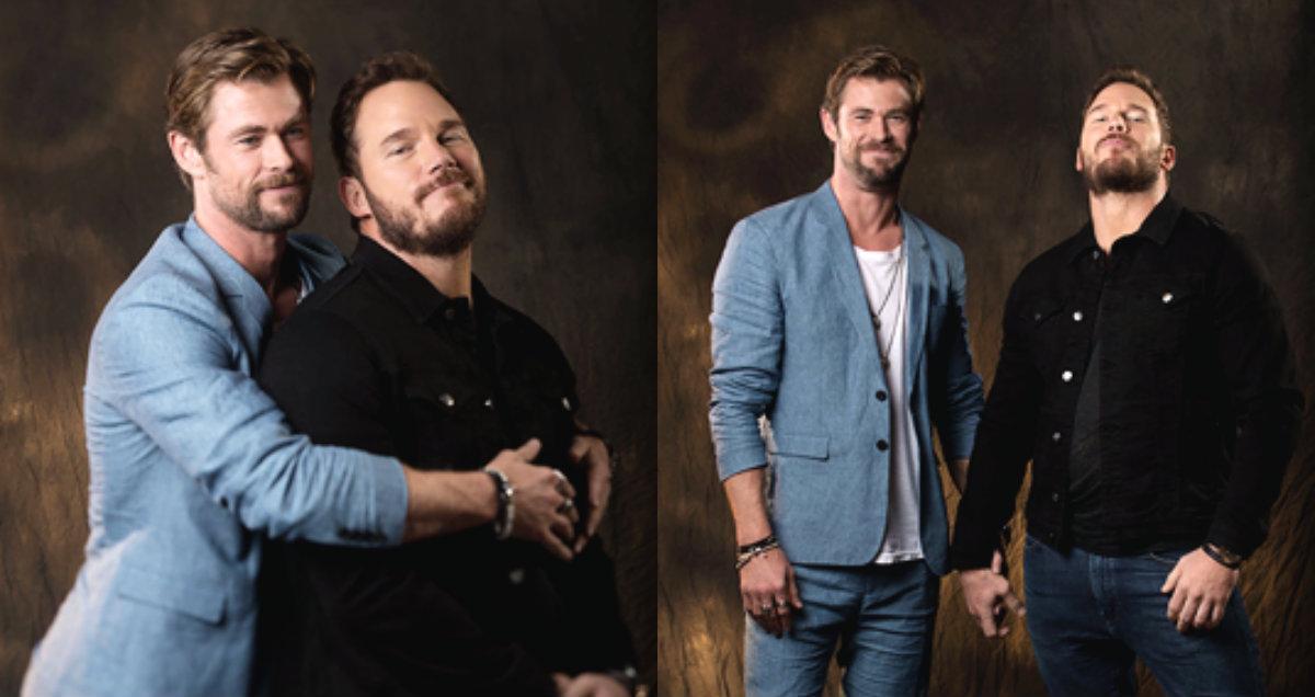 Chris Hemsworth: 'fiquei abalado quando conheci Chris Pratt'   Vingadores: Guerra Infinita   Avengers 3: Infinity War