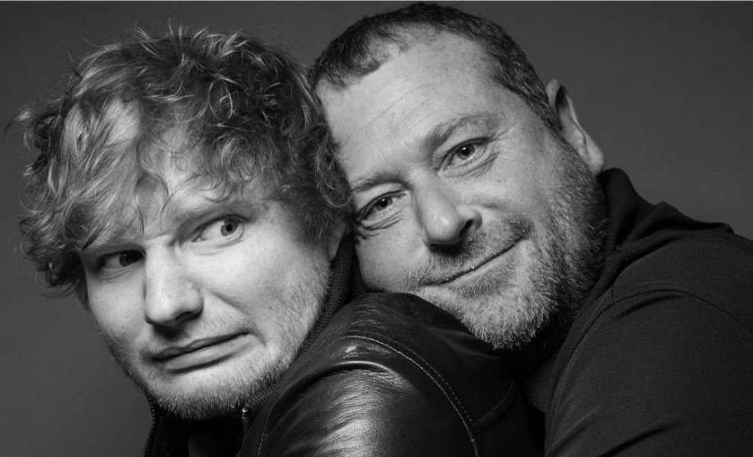 Com bromance, guarda-costas de Ed Sheeran conquista meio milhão de seguidores em 14 dias