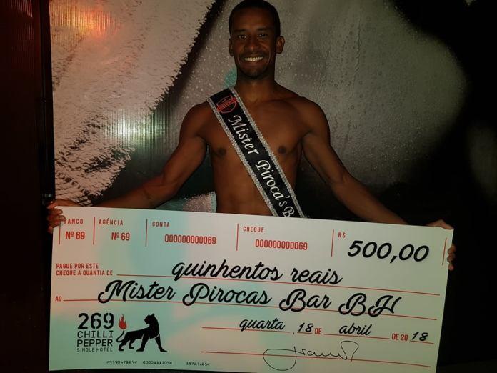 Mister Pirocas Bar BH ficou com o gato Rafael Vitor.