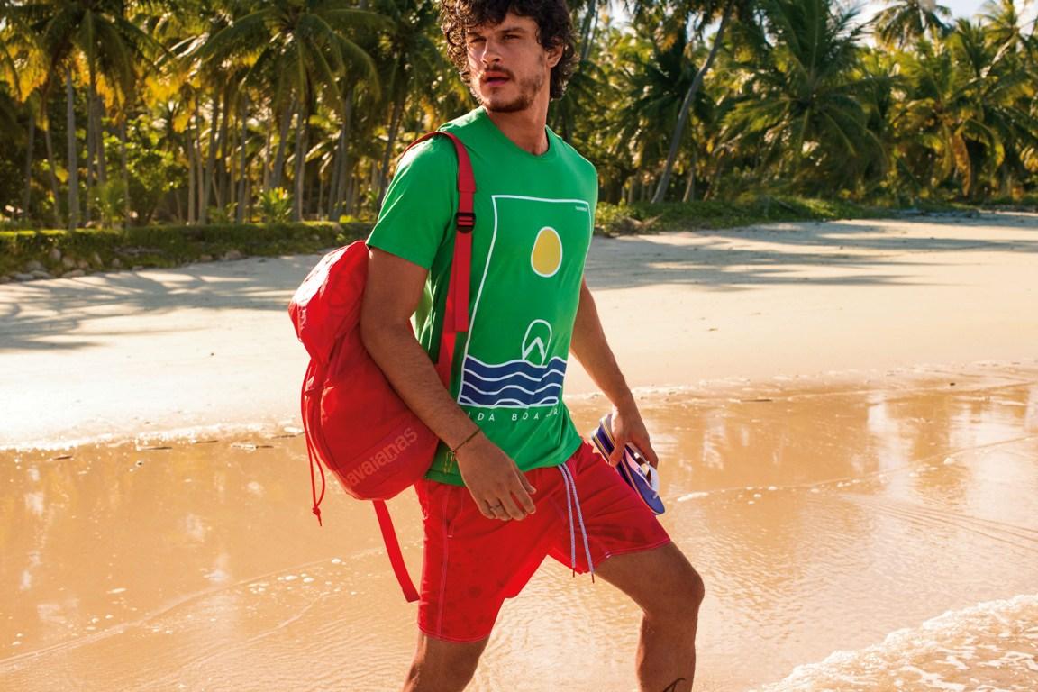 Havaianas investe em mochilas, porta-fones e novas mini bags