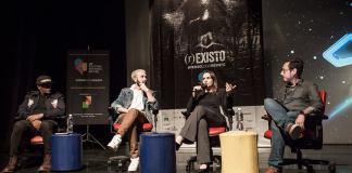 Participaram da conferência: Ana Pellegrini (Diretora jurídica na Uber do Brasil e Cone Sul, líder de diversidade e inclusão da Uber na América Latina, Felipe Simi (Founder/Head of Creative Data da Soko, Billy Castilho, (Diretor de arte no estudio Billy Castilho) e mediação de Eliezer Silveira Filho (Executivo de marketing e inovação e ativista da temática LGBTI).