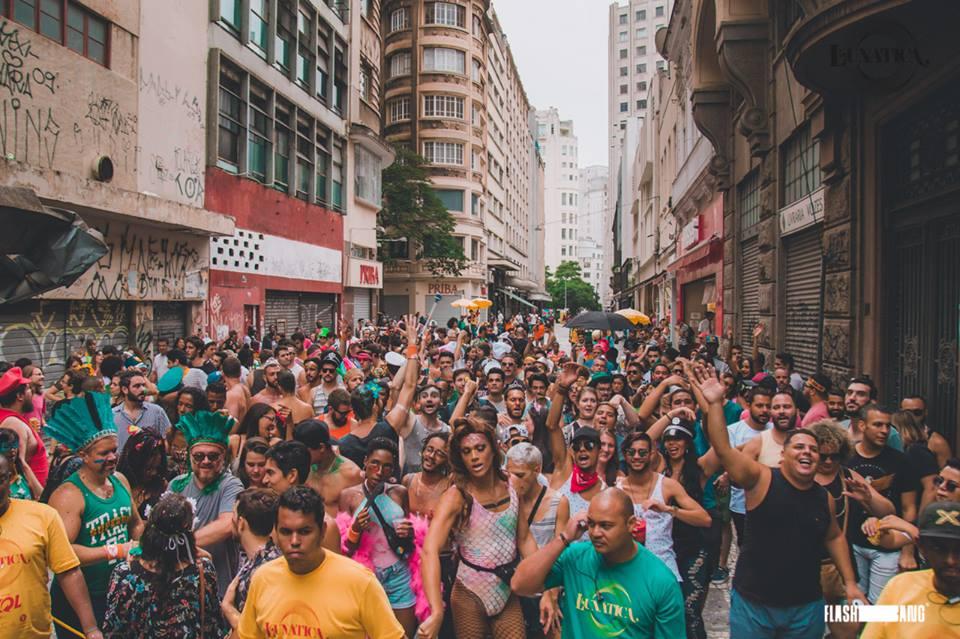 E o bloco de carnaval da Festa Lunática já data marcada em 2019!