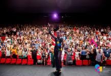Cerimônia de abertura de 2018. Foto: Festival Mix Brasil