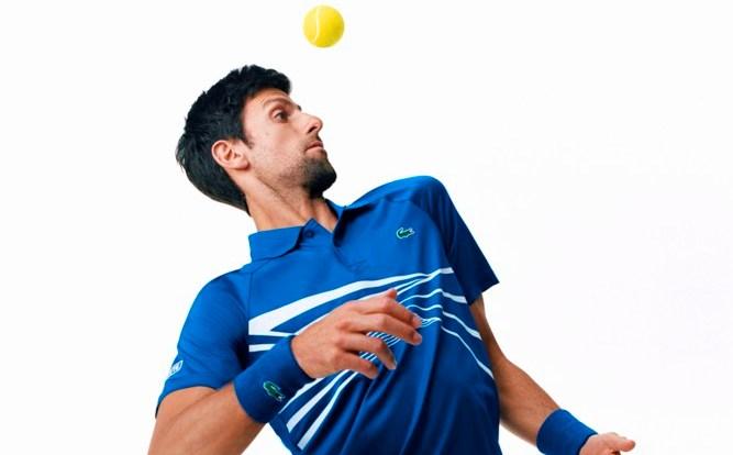 Lacoste apresenta a coleção Novak Djokovic e os uniformes de sua equipe para a primavera 2019