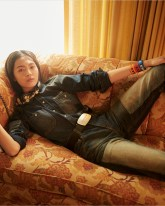 Jiali Zhao para Calvin Klein (Glen Luchford)