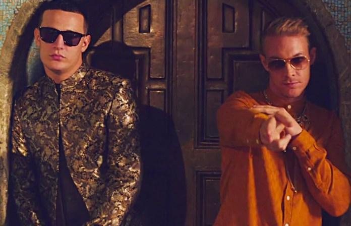"""DJ Snake e Diplo no clipe """"Lean On"""". Foto: reprodução"""