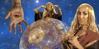 """pepita Os produtores de Pabllo Vittar prepararam uma viagem psicodélica banhada em glitter e brilho iridescente no clipe """"Retrogrado"""""""