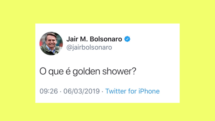 twitter golden shower