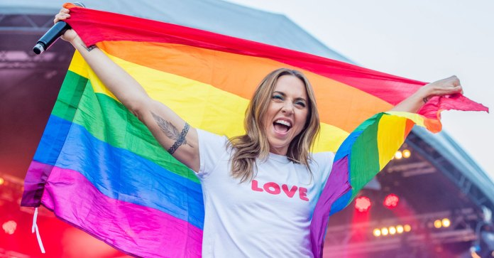 Spice Girls' Melanie C Shows Her Colors at Pride Amsterdam 2018! | Melanie C, Spice Girls : Just Jared
