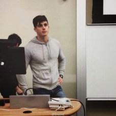 O então professor de Matemática, em 2014