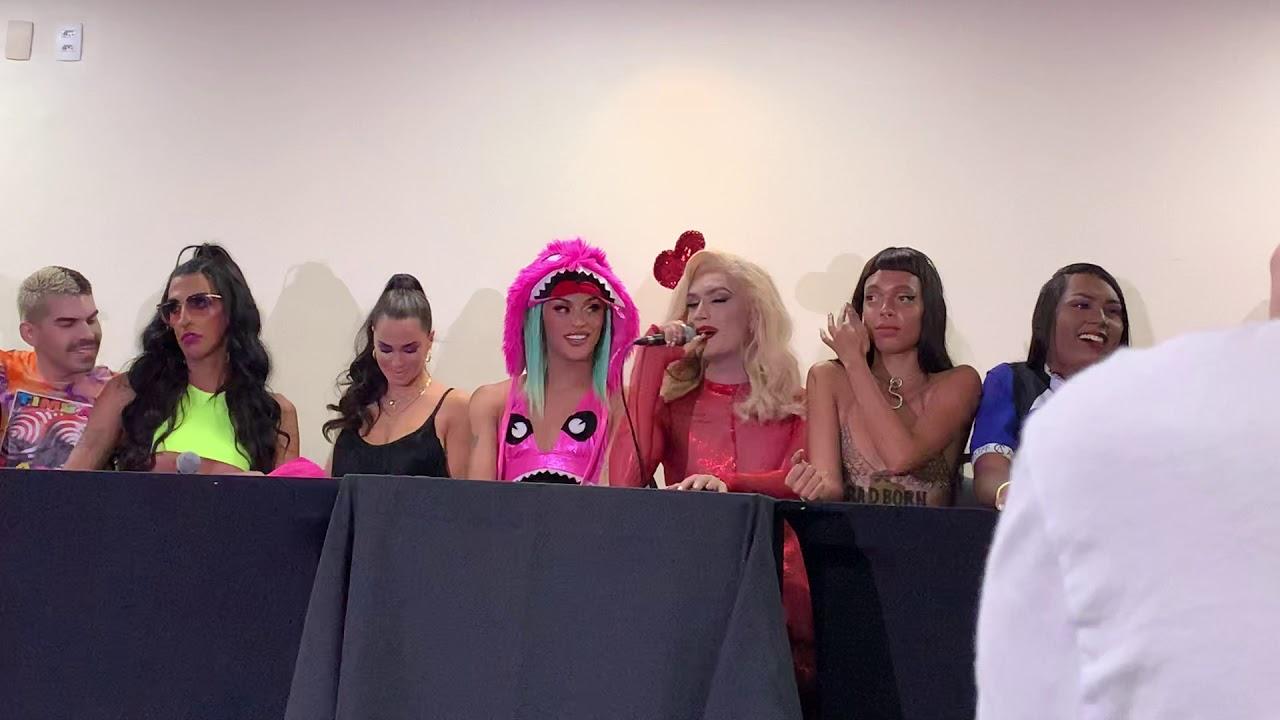 Santa Ceia: Pabllo Vittar forma bancada LGBT+ em coletiva de imprensa pré-bloco