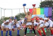 ligay champions unicorns xuxa unicorns scruff time futebol gay