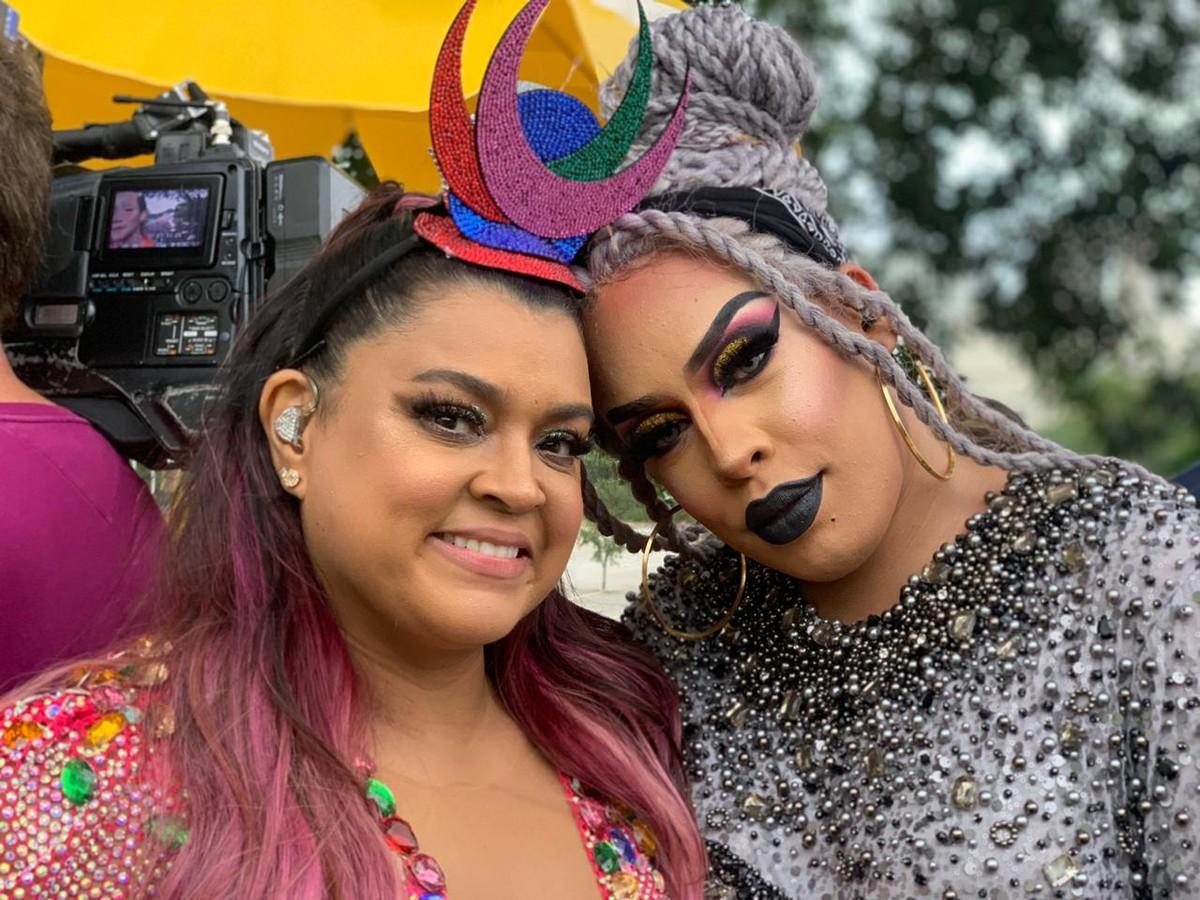 Feat de Gloria Groove com Preta Gil é trilha de personagem trans em 'A Dona do Pedaço'