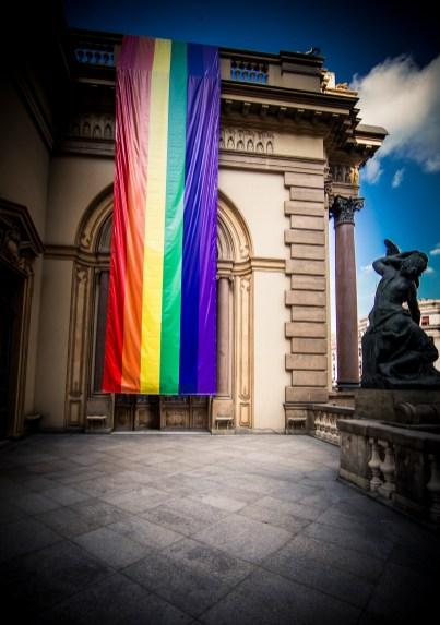 Theatro Municipal de São Paulo apoia o movimento LGBT