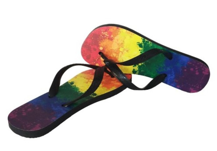 CHINELO HAVAIANAS HAVAIANA SUPERPRIDE LGBT BANDEIRA