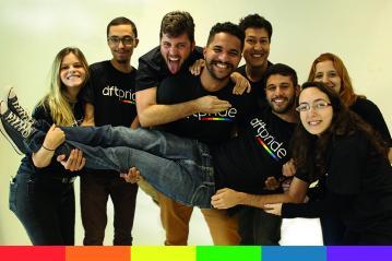 Pride Month Dafiti. Foto: Jacqueline Santos