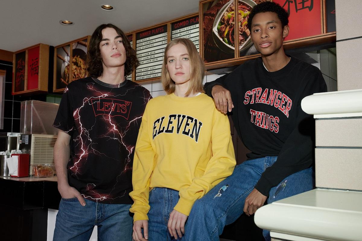Levi's apresenta coleção cápsula em parceria com a série 'Stranger Things'