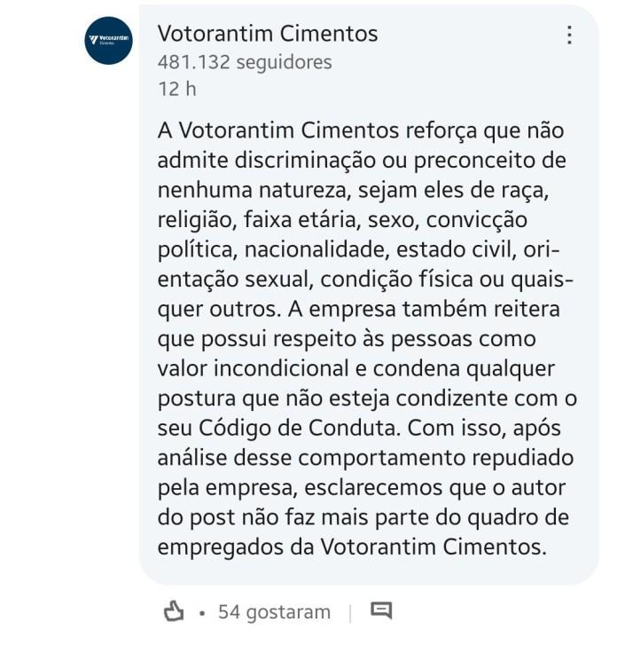 Após comentário homofóbico, empresa demite funcionário ~ao vivaço~ no mesmo post