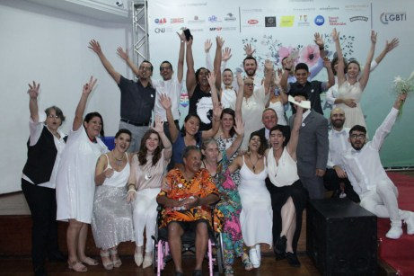 Casamento Coletivo LGBT na cidade de São Paulo