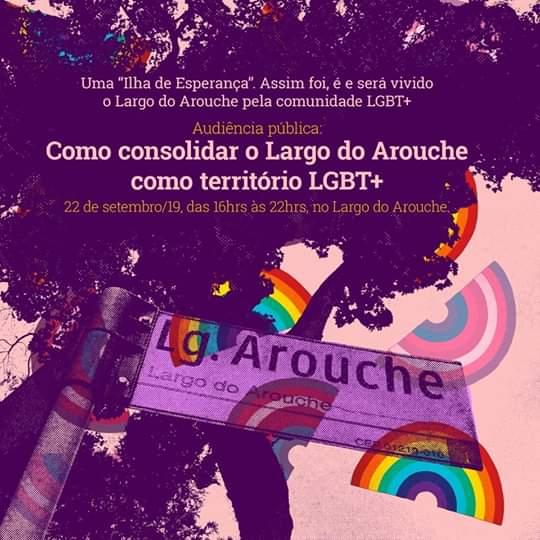 Aud. Pública: Como consolidar o Arouche como território LGBT+