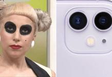 lady gaga iphone