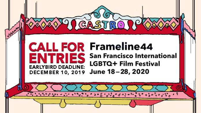 Abertas as inscrições para o festival de cinema LGBT+ Frameline