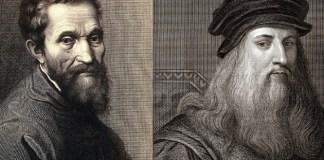 """""""Michelangelo e Da Vinci amavam homens fortes e pelados"""" - rivalidade viraliza na web"""