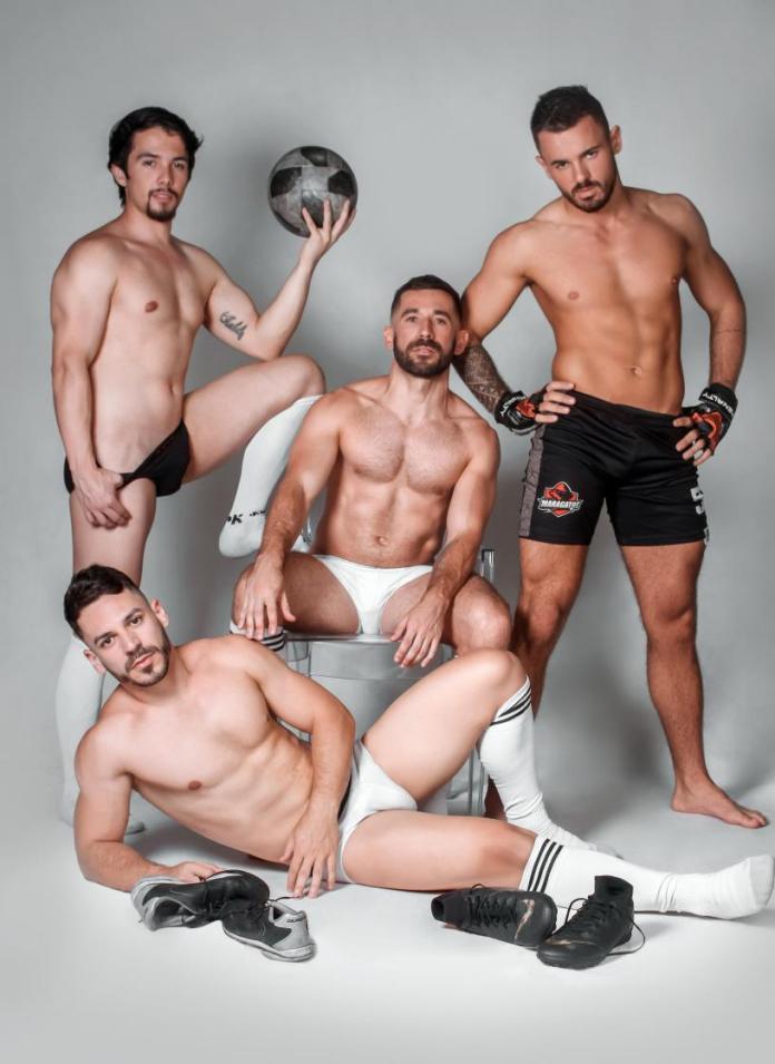 Time gay do Rio Grande do Sul faz calendário para arrecadar fundos