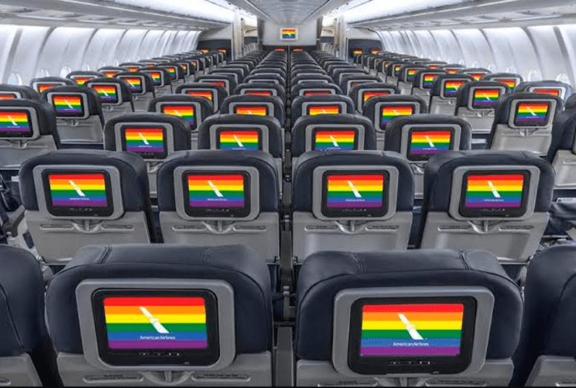 American Airlines se destaca com igualdade corporativa na Human Rights Campaign