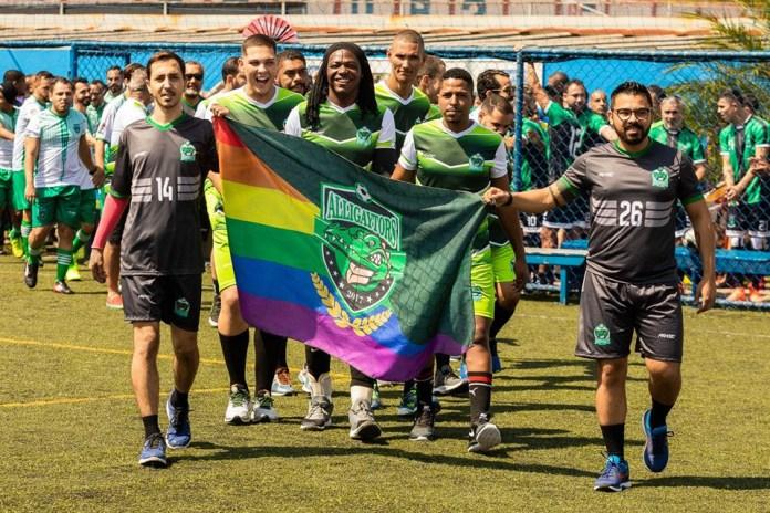 Os cariocas do Alligaytors participaram com times de vôlei e futebol na True Colors Cup 2019