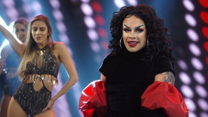 """A drag Gloria Groove """"nasceu"""" por influência do reality show RuPaul´s Drag Race (Foto: Reprodução)"""