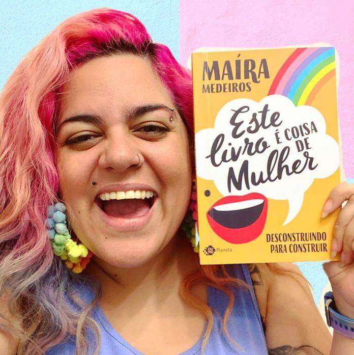Maíra Medeiros propõe democratizar o debate sobre feminismo em seu primeiro livro (reprodução/Instagram)