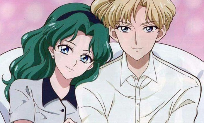 Haruka and Michiru are the most known homoaffective couple on Sailor Moon