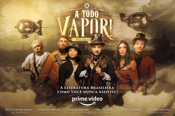 """""""A Todo Vapor!"""" é a primeira série steampunk brasileira e conta com casal gay"""