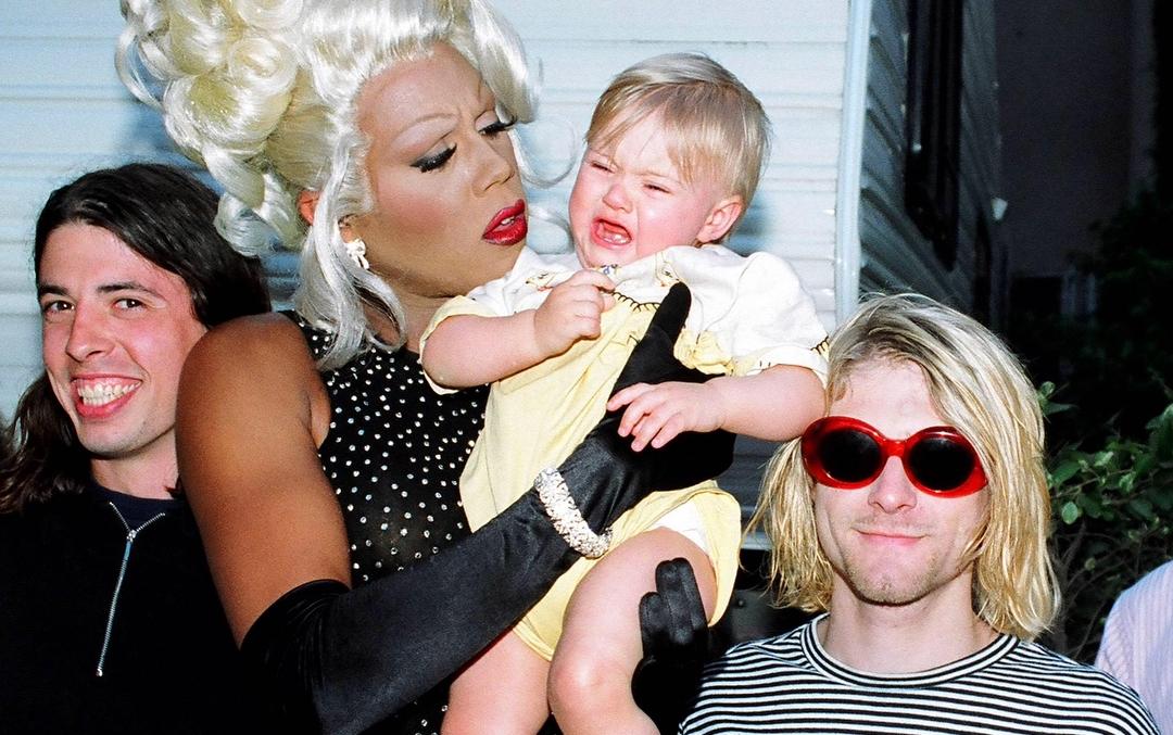 """RuPaul e Kurt Cobain foram grandes amigos: """"Nirvana não me tratava como piada"""""""