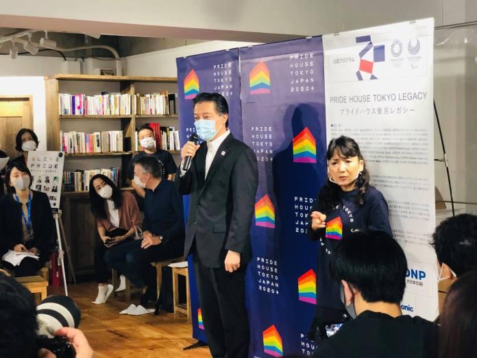 Pride House Tokyo - Divulgación