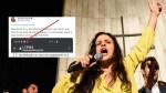 Ícone do app SCRUFF chama atenção em print de Janaina Paschoal jantando C4rl4 Z4mbell1