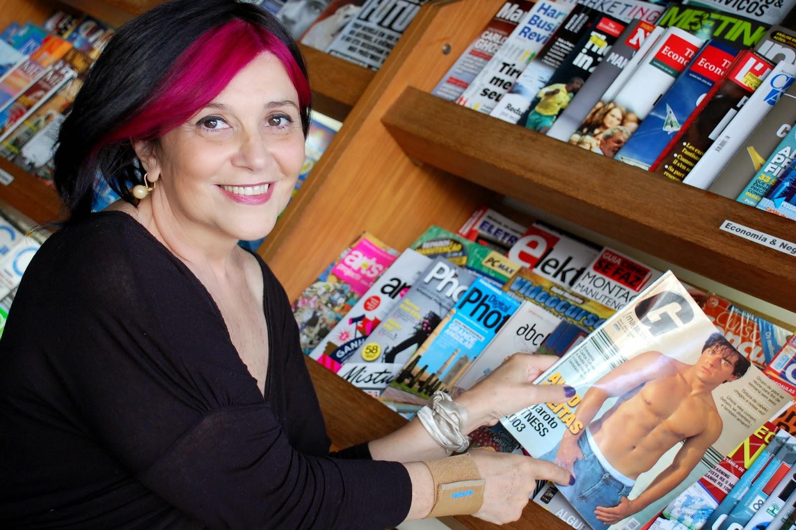Ana Fadigas, fundadora da G Magazine, relembra histórias e conquistas