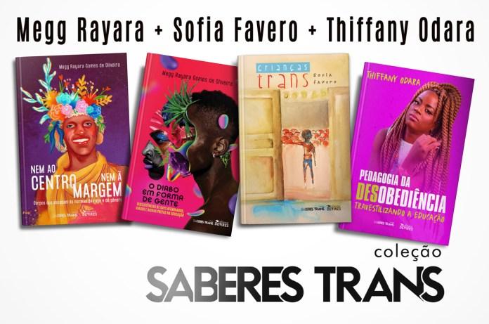 Mulheres trans lançam coleção de livros acadêmicos