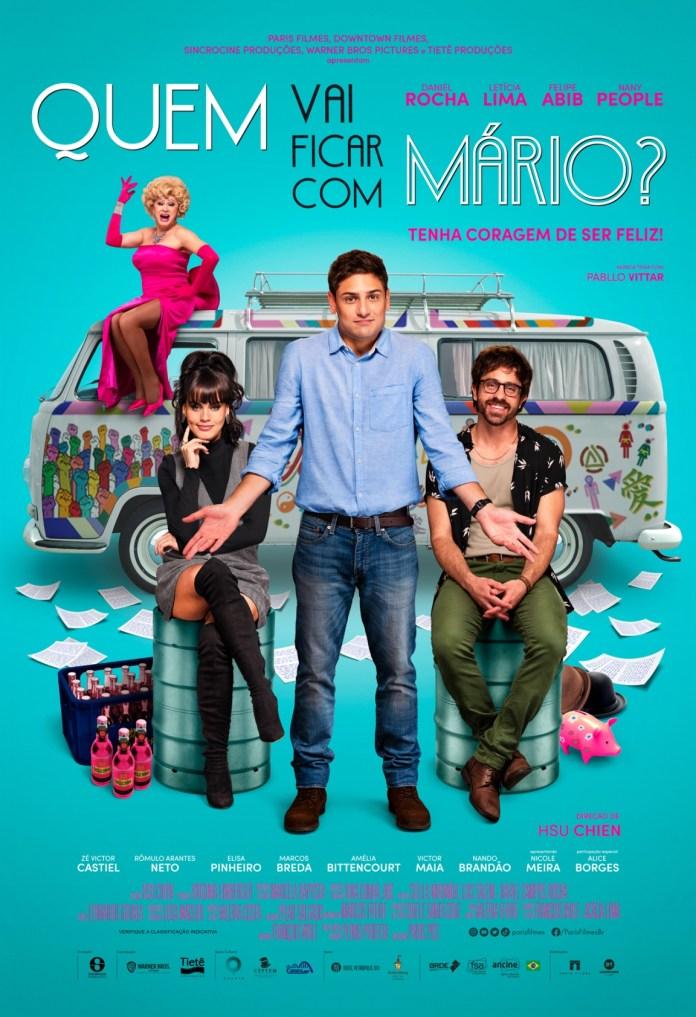 Daniel Rocha, Rômulo Arantes Neto e Nany People estrelam filme com trilha de Pabllo Vittar