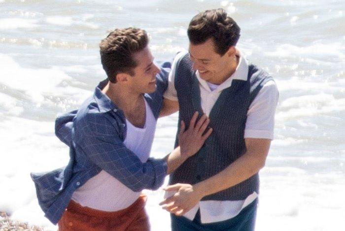 """Divulgadas imagens de Harry Styles em """"My Policeman"""", onde interpreta policial gay"""