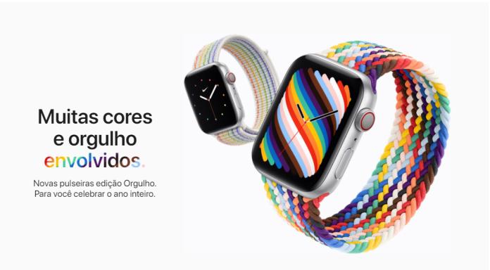 Apple Watch Pulseiras comemorativas