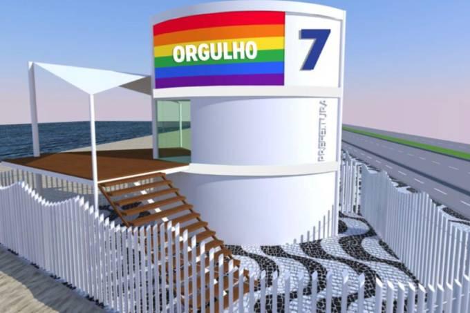 24 postos de salvamento da orla do Rio de Janeiro ganharão as cores do arco-íris