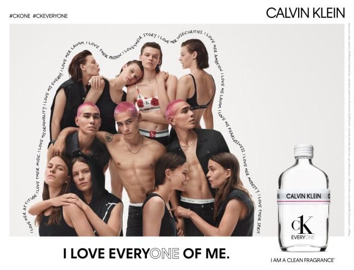 Calvin Klein quer despertar sentimento de orgulho com perfume sem gênero