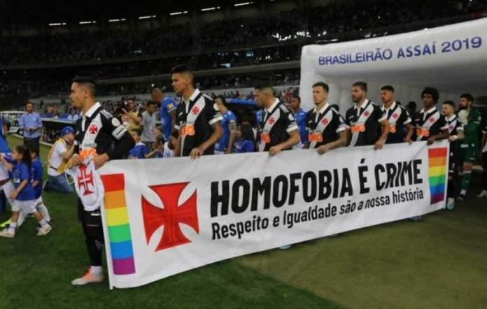 Vasco volta a se posicionar a favor dos LGBTs nas redes sociais